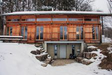 picture of our accommodation in Jura